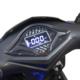Elektroroller R1.2 blau Detail Display